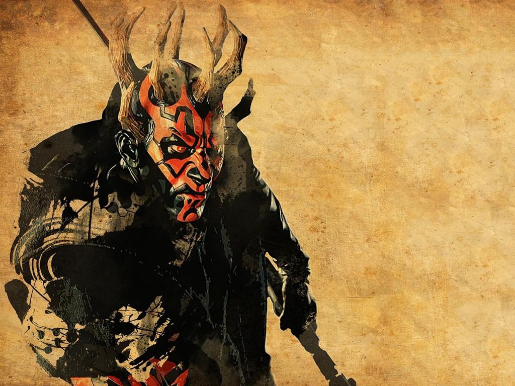 Star Wars Wallpaper: Darth Maul
