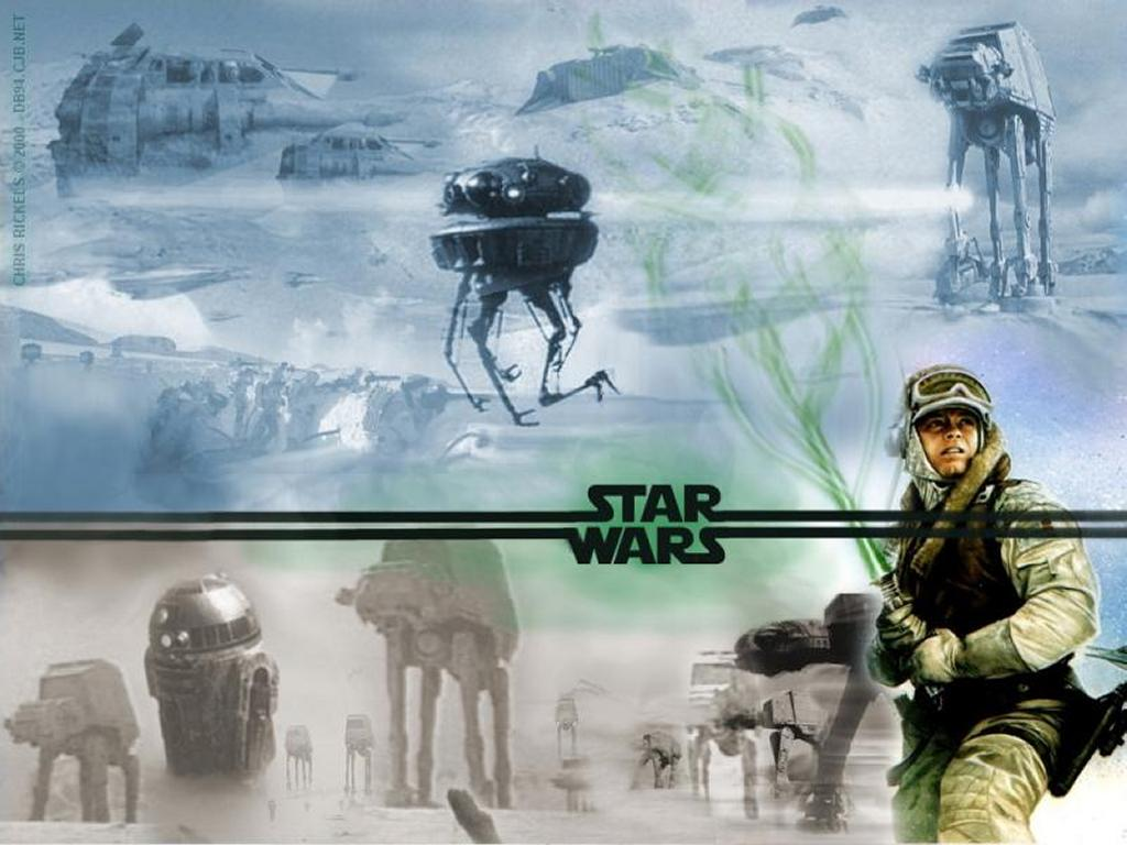 Star Wars Wallpaper: Battle of Hoth - Collage