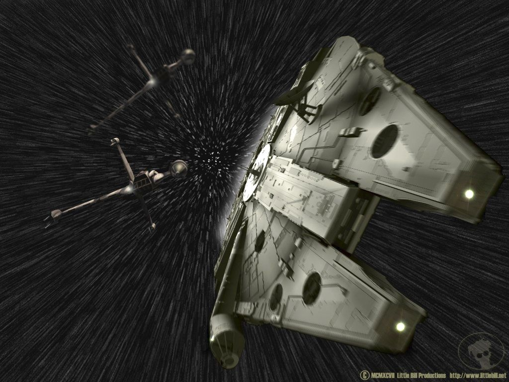 Star Wars Wallpaper: Hyperspace