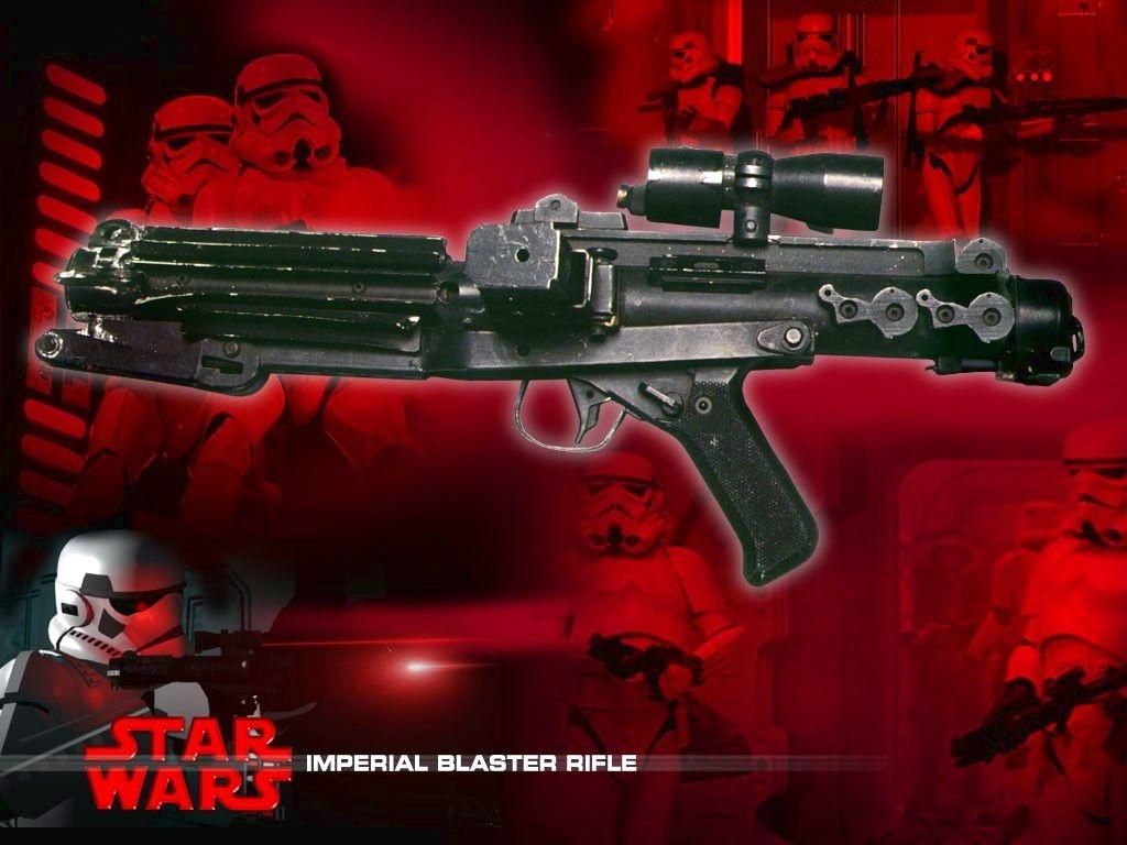 Star Wars Wallpaper: Imperial Blaster Rifle