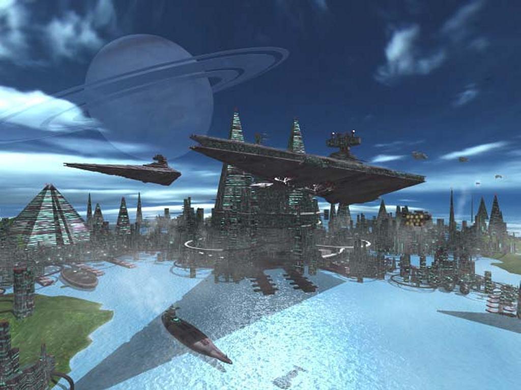 Star Wars Wallpaper: Imperial City