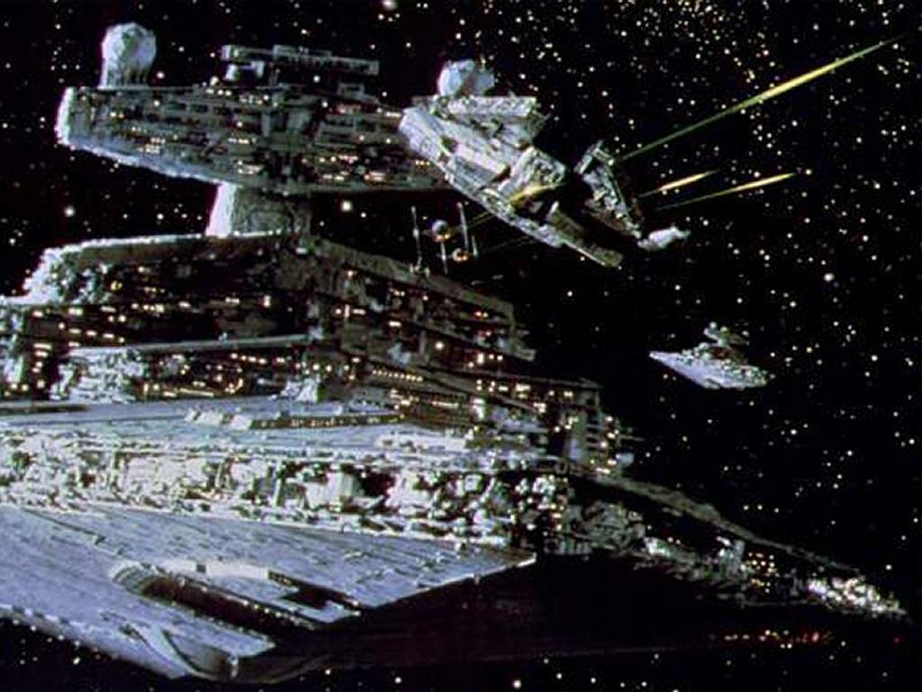 Star Wars Wallpaper: Imperial Destroyer