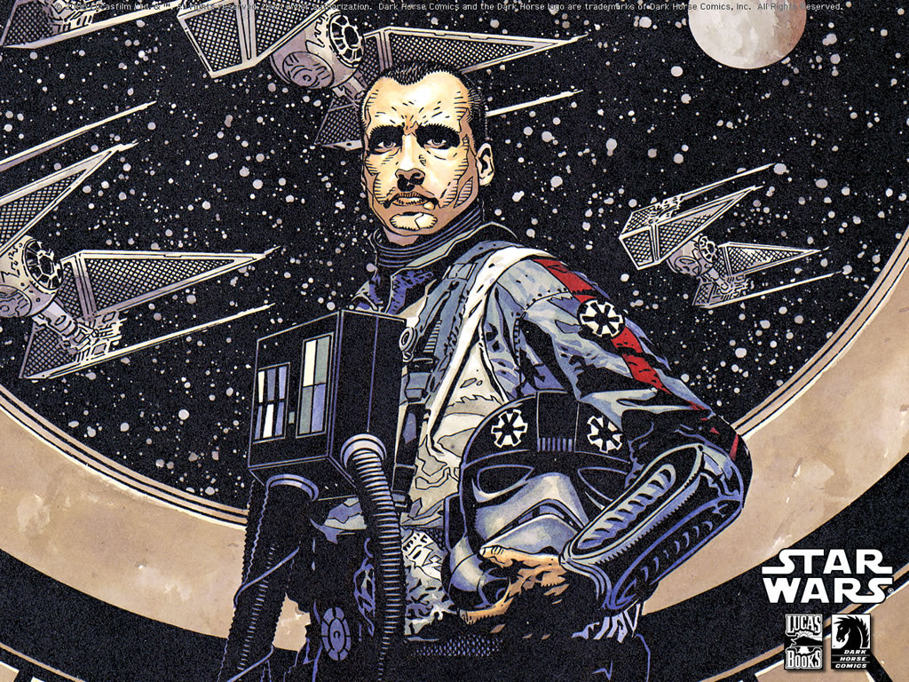 Star Wars Wallpaper: Imperial Pilot