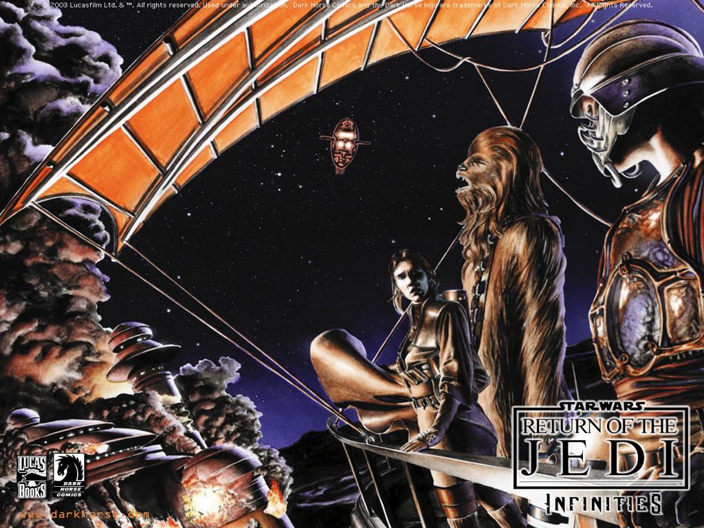 Star Wars Wallpaper: Infinities - Return of the Jedi
