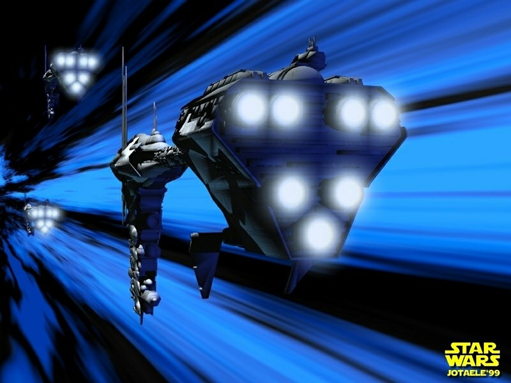Star Wars Wallpaper: Into the Hyperspace
