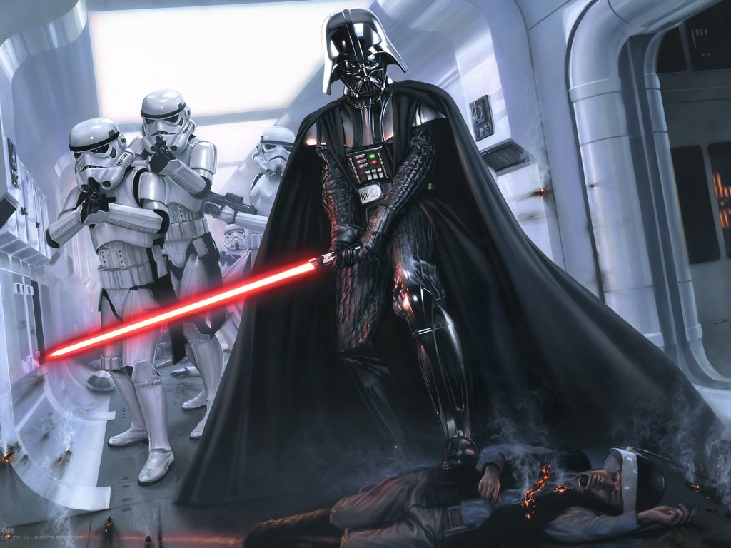 Star Wars Wallpaper: Invaders