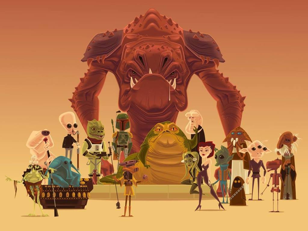 Star Wars Wallpaper: Jabba Crew