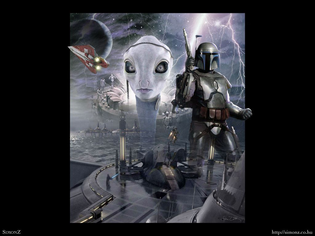Star Wars Wallpaper: Jango Fett