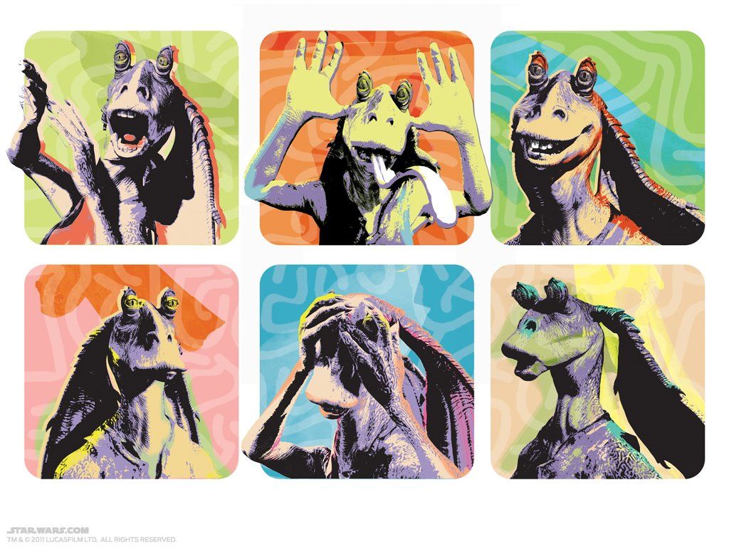 Star Wars Wallpaper: Jar Jar Binks