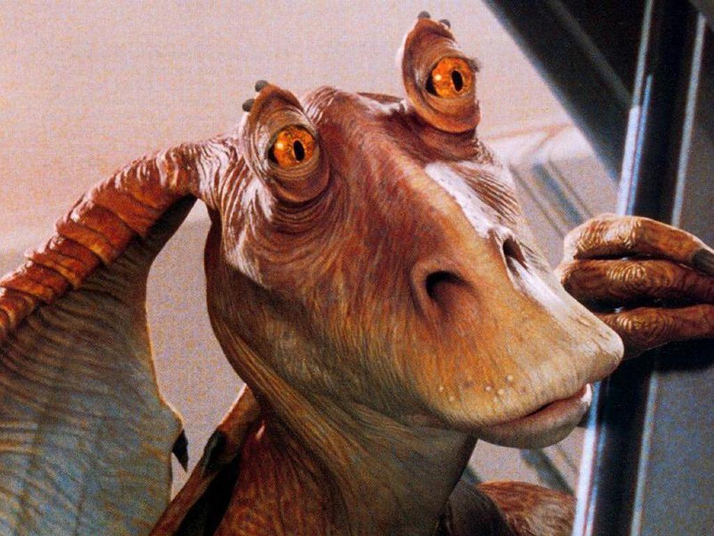 Star Wars Wallpaper: Jar Jar Binks
