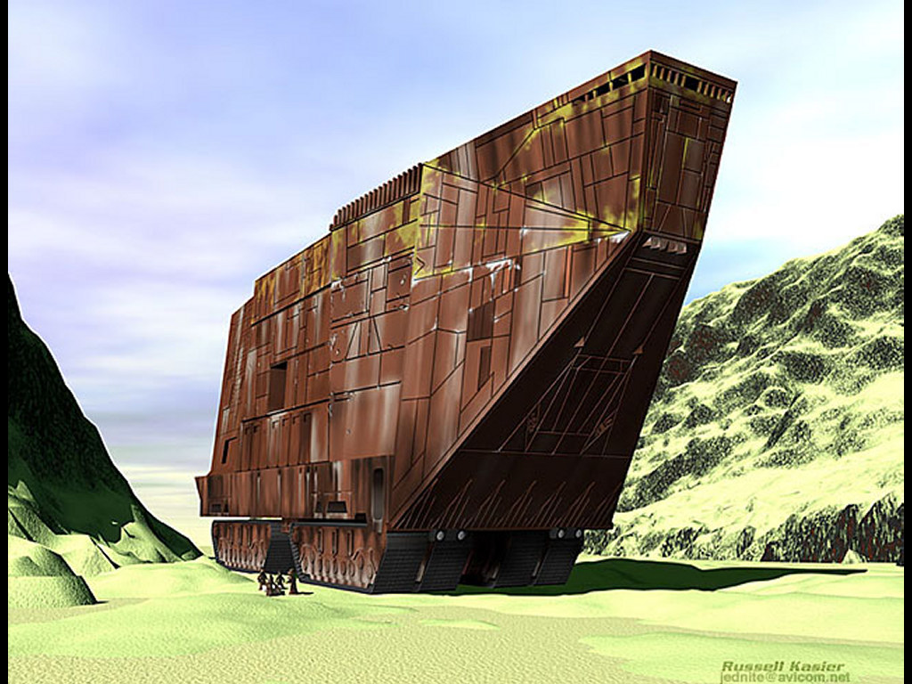 Star Wars Wallpaper: Jawas - Vehicle