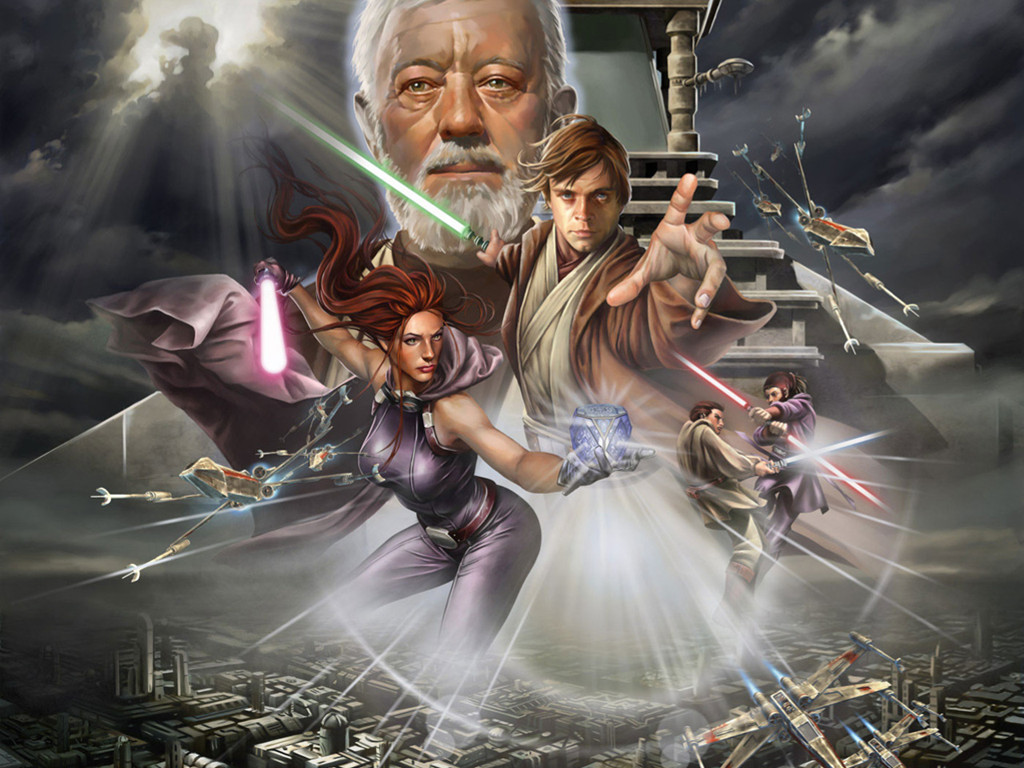 Star Wars Wallpaper: Jedi Academy