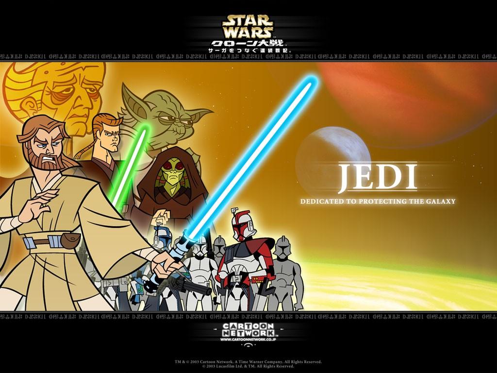 Star Wars Wallpaper: Jedi - Clone Wars