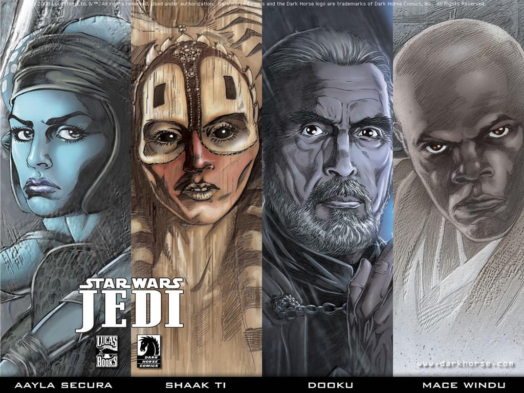 Star Wars Wallpaper: Jedi Masters
