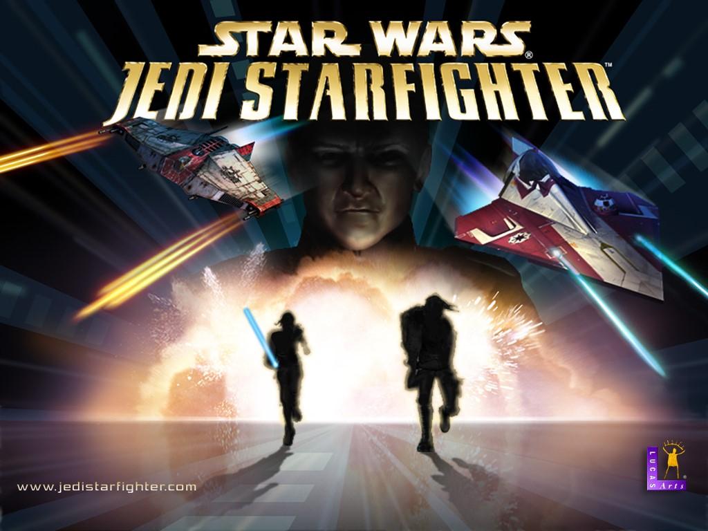 Star Wars Wallpaper: Jedi Starfighter