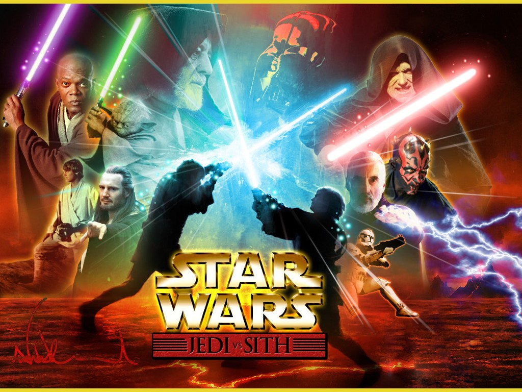 Star Wars Wallpaper: Jedi vs Sith