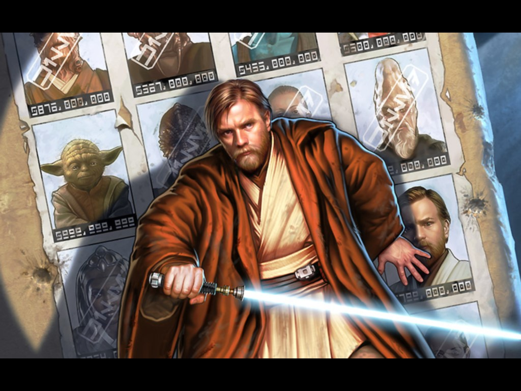Star Wars Wallpaper: Kenobi - Hunted