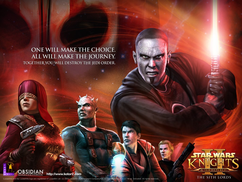 Star Wars Wallpaper: Knights of the Old Republic II - The Sith Lords