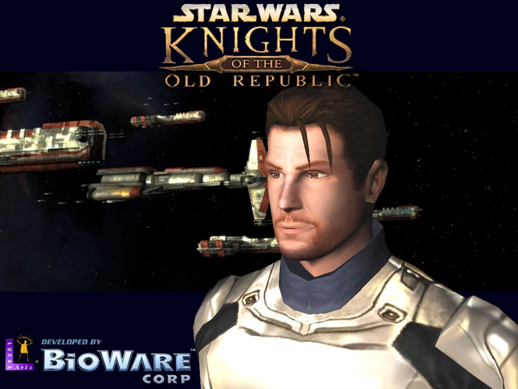 Star Wars Wallpaper: Knights of the Old Republic - Carth Onasi