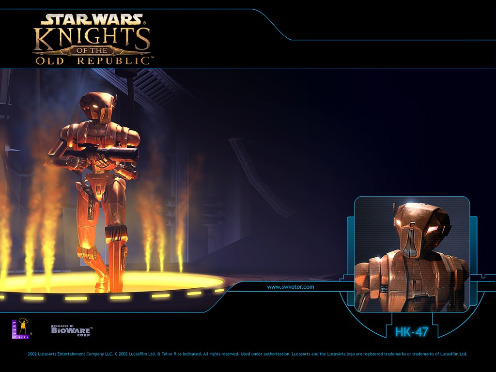 Star Wars Wallpaper: Knights of the Old Republic - HK-47