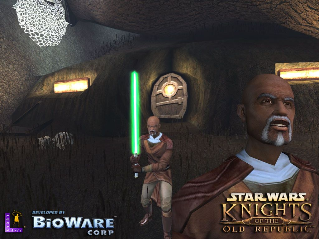 Star Wars Wallpaper: KOTOR - Jolee Bindo
