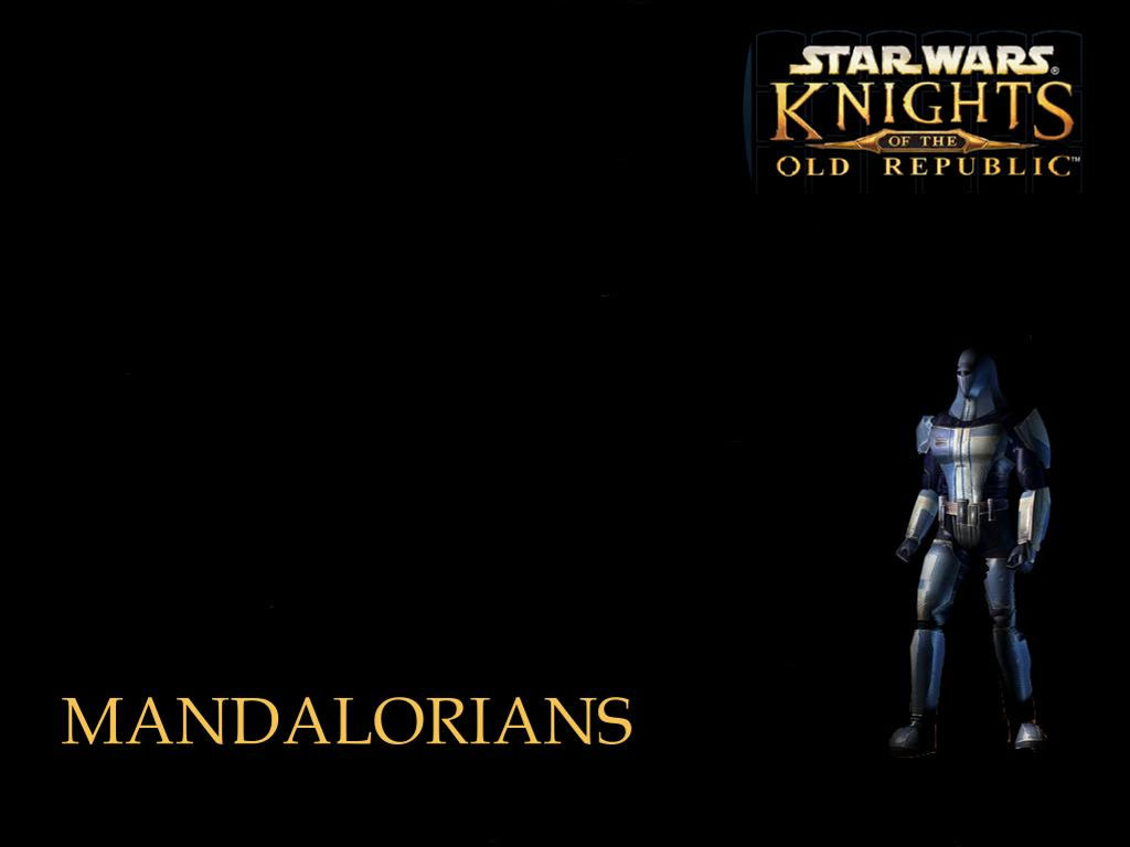 Star Wars Wallpaper: Knights of the Old Republic - Mandalorians