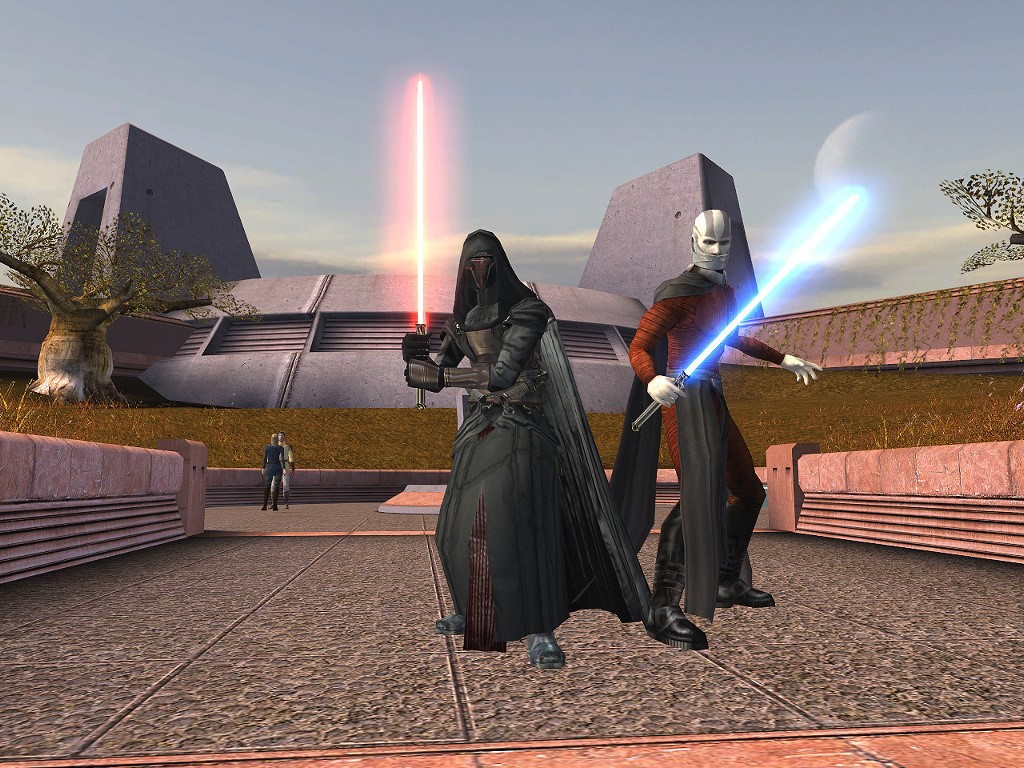 Star Wars Wallpaper: Knights of the Old Republic - Revan and Malak