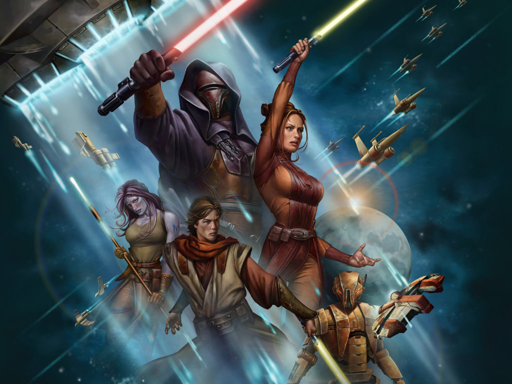 Star Wars Wallpaper: Knights of the Old Republic - RPG