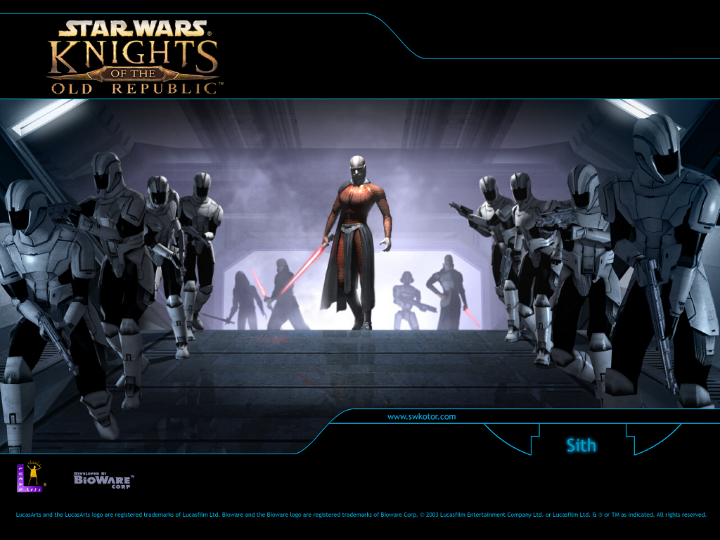 Star Wars Wallpaper: Knights of the Old Republic - Sith