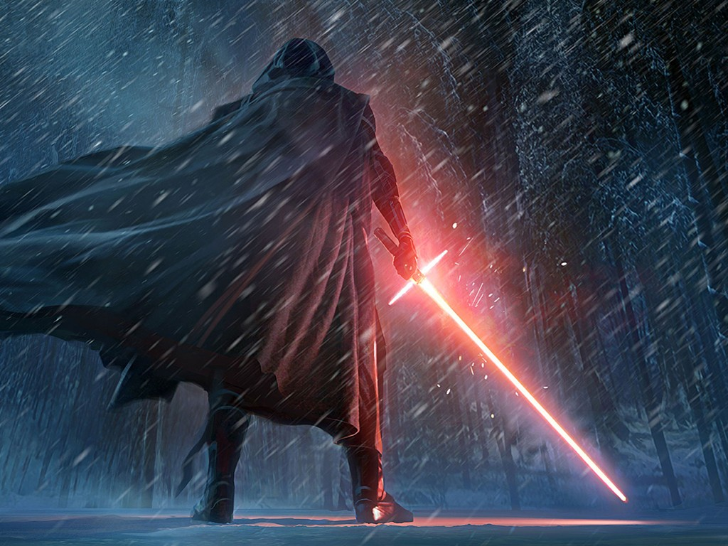 Star Wars Wallpaper: Kylo Ren - Fan Art
