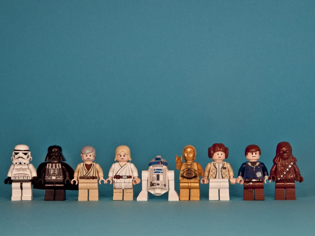 Star Wars Wallpaper: Lego - Classic Trilogy