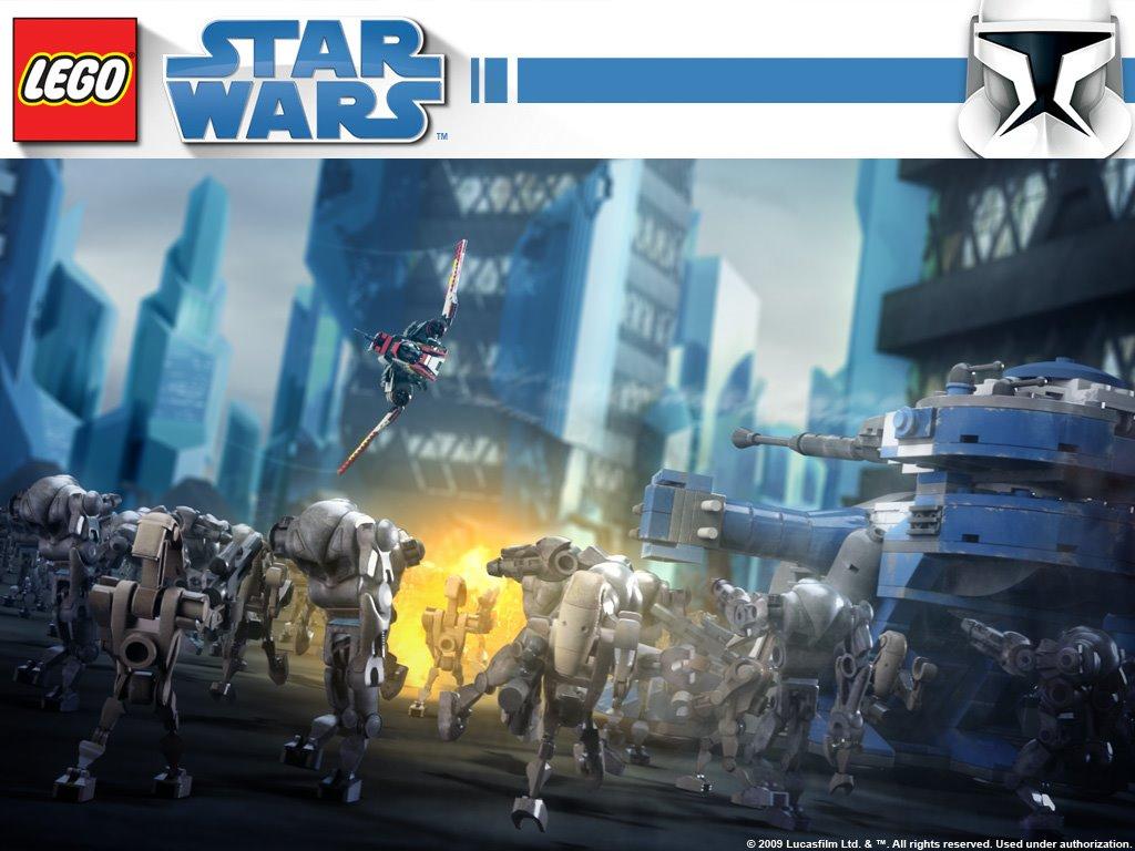 Star Wars Wallpaper: Lego - Droid Army