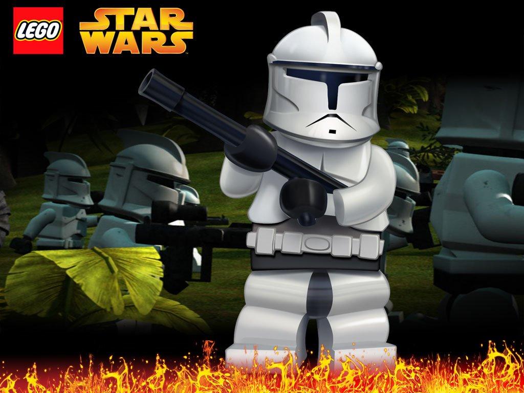 Star Wars Wallpaper: Lego Star Wars - Clone Trooper