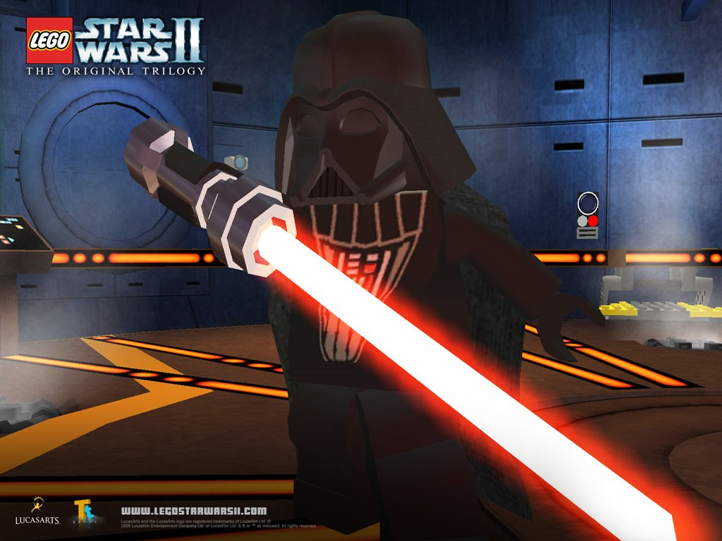 Star Wars Wallpaper: Lego Star Wars II - Darth Vader