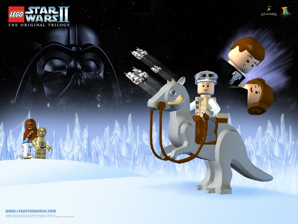 Star Wars Wallpaper: Lego Star Wars II - The Original Trilogy