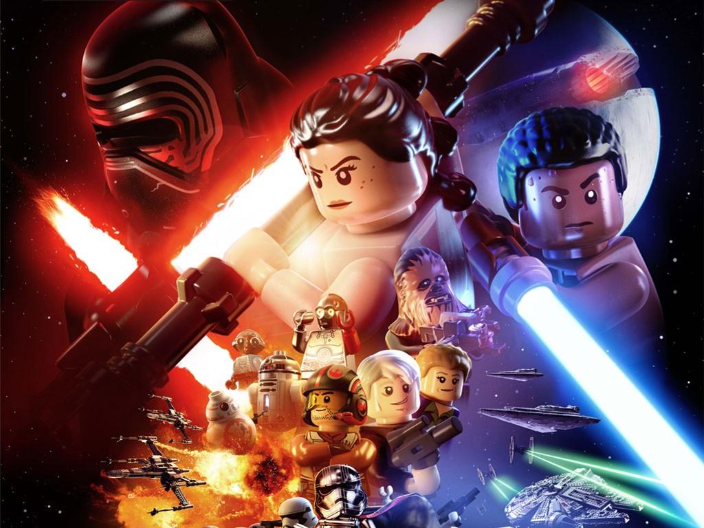 Star Wars Wallpaper: Lego Star Wars - The Force Awakens