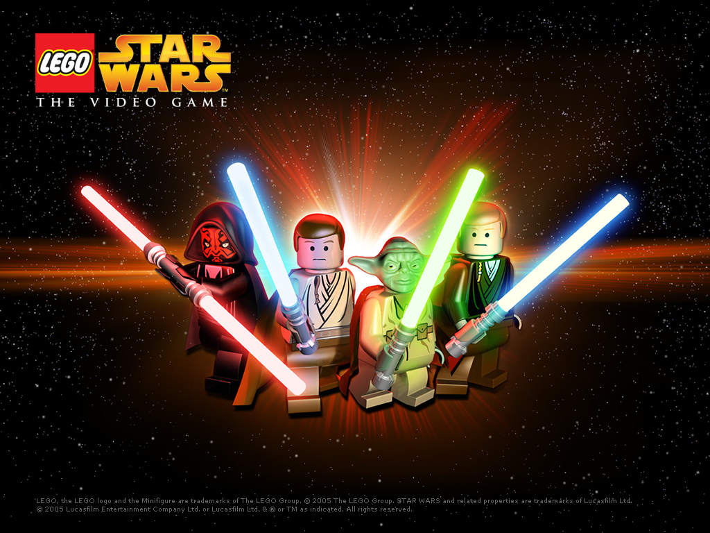 Star Wars Wallpaper: Lego Star Wars - The Game