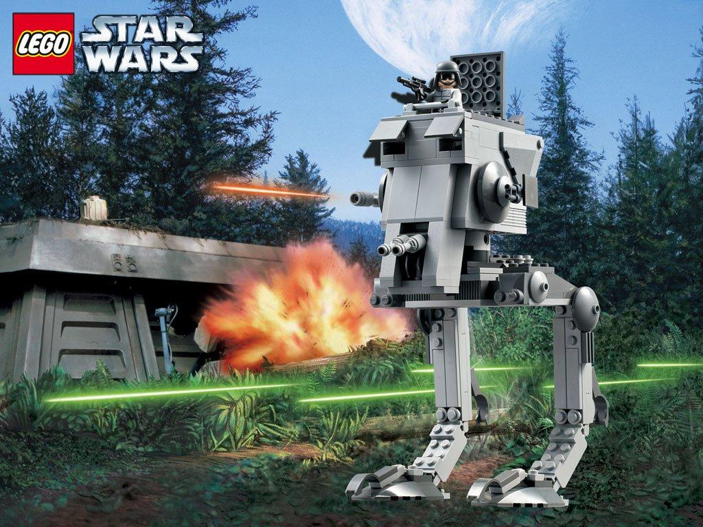 Star Wars Wallpaper: Lego Star Wars - Walker