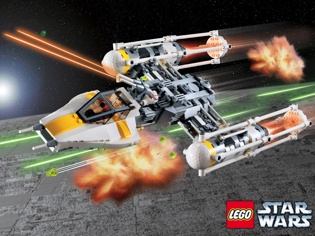 Star Wars Wallpaper: Lego Star Wars - Y-Wing