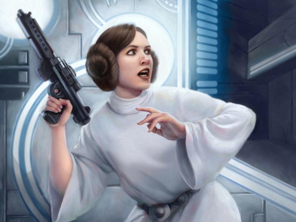 Star Wars Wallpaper: Leia Organa