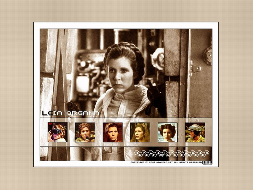 Star Wars Wallpaper: Leia Organa