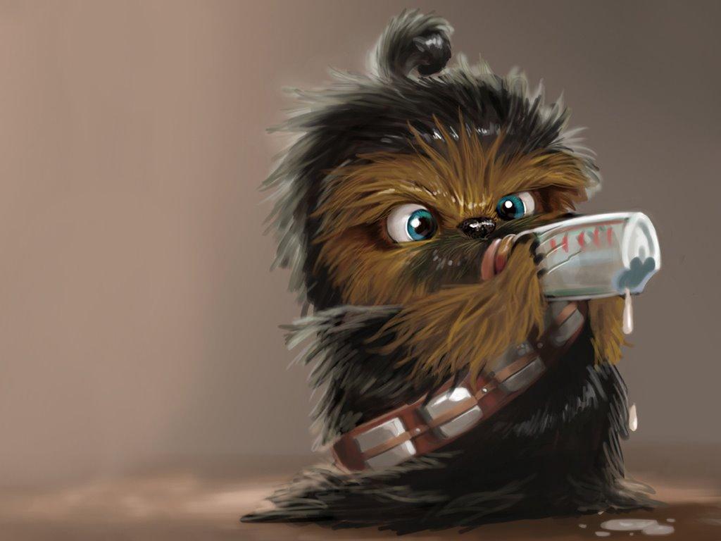 Star Wars Wallpaper: Lil Chewie