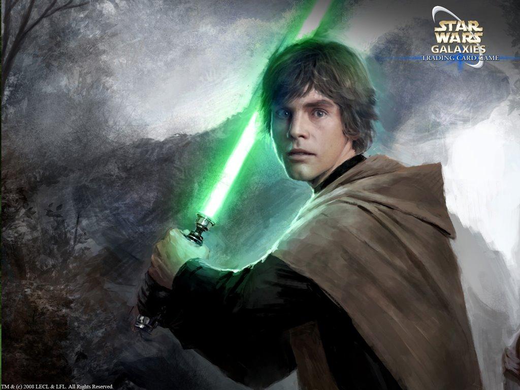 Star Wars Wallpaper: Luke Skywalker (by Darren Tan)