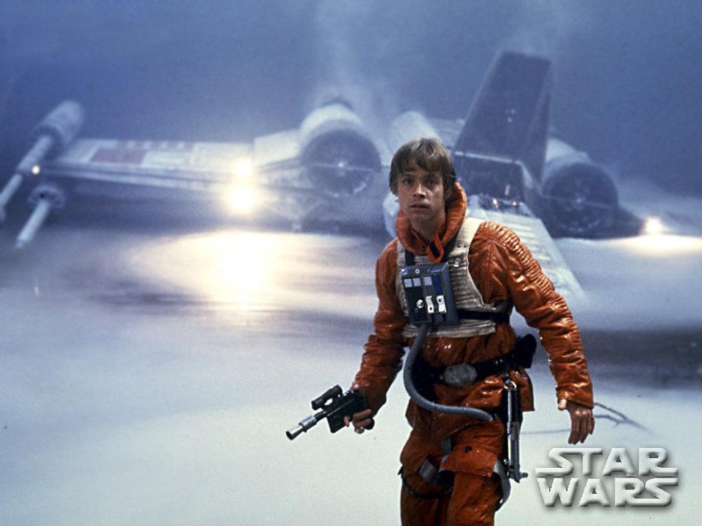 Star Wars Wallpaper: Episode V - The Empire Strikes Back (Luke Skywalker in Dagobah)