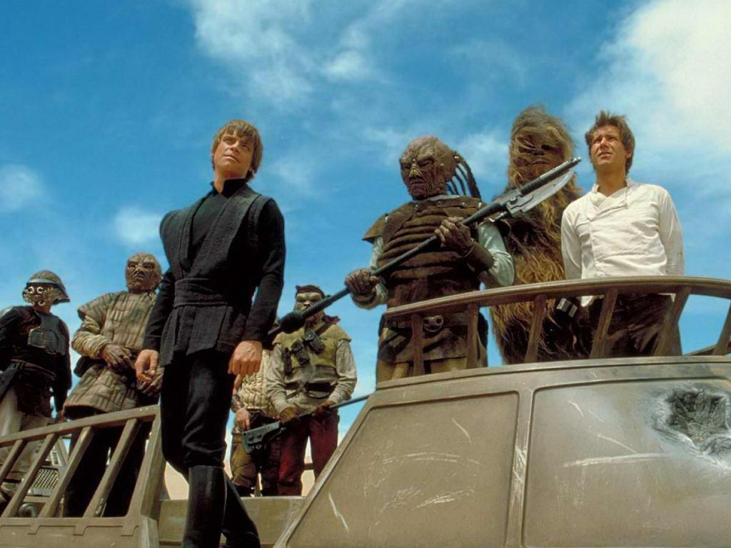 Star Wars Wallpaper: Luke Skywalker - Sarlacc Pit