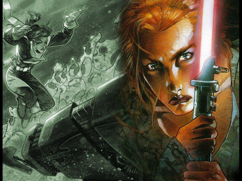 Star Wars Wallpaper: Mara Jade