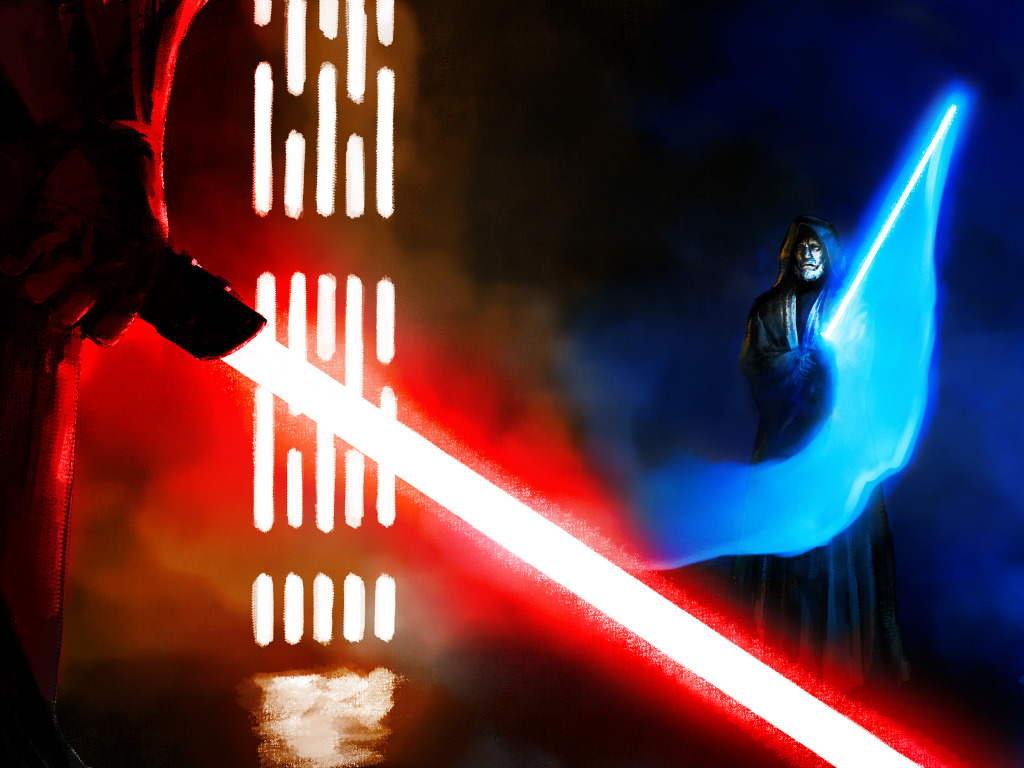 My Free Wallpapers Star Wars Wallpaper Master Vs Apprentice