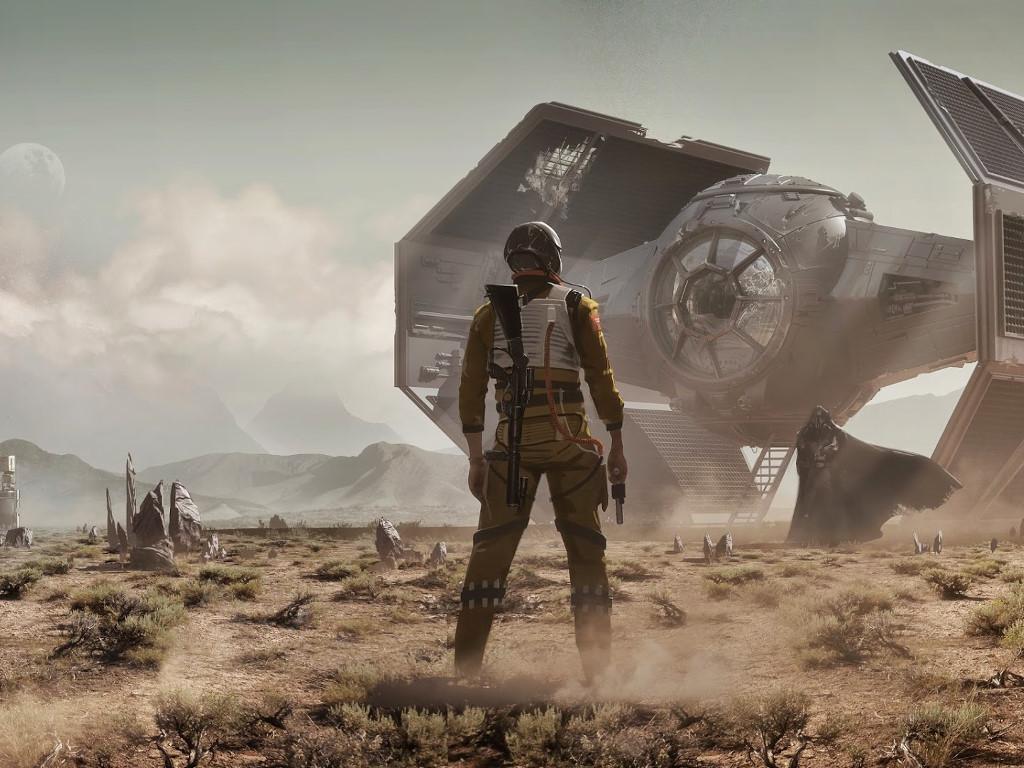 Star Wars Wallpaper: Meeting