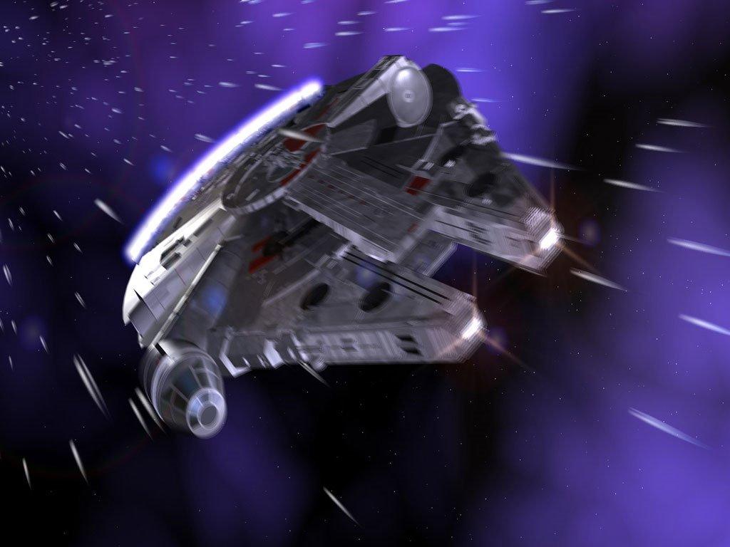 Star Wars Wallpaper: Millenium Falcon