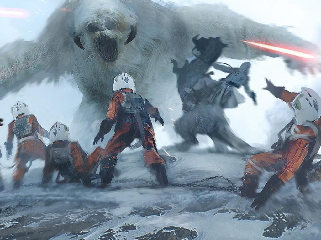 Star Wars Wallpaper: Morgan Yon - Beast of Hoth